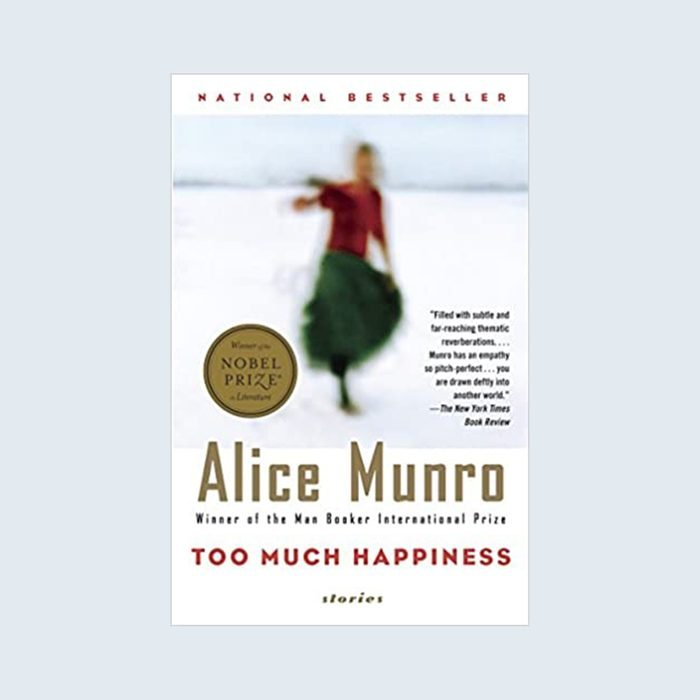Too Much Happiness by Alice Munro cover
