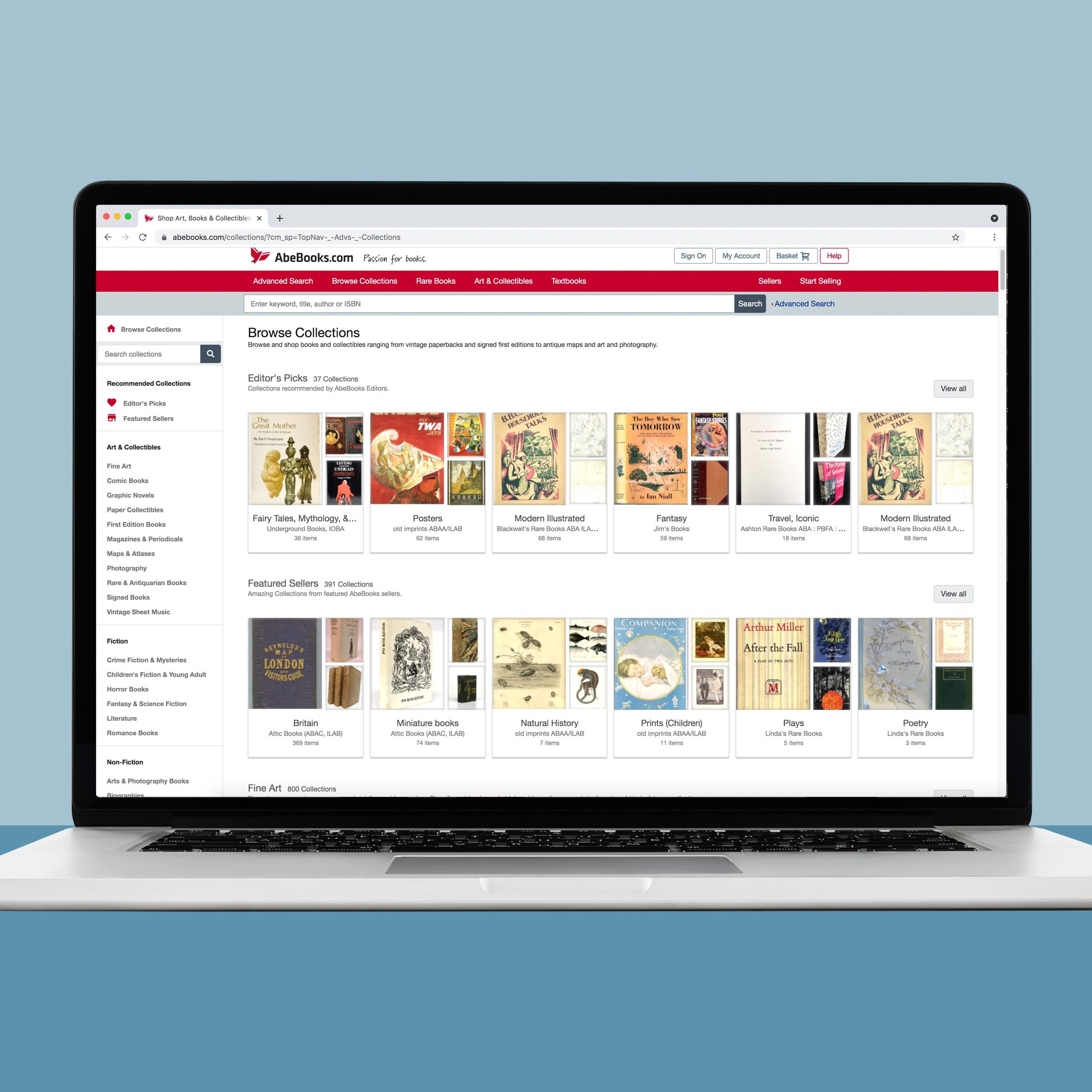 Abebooks the online used book retailer