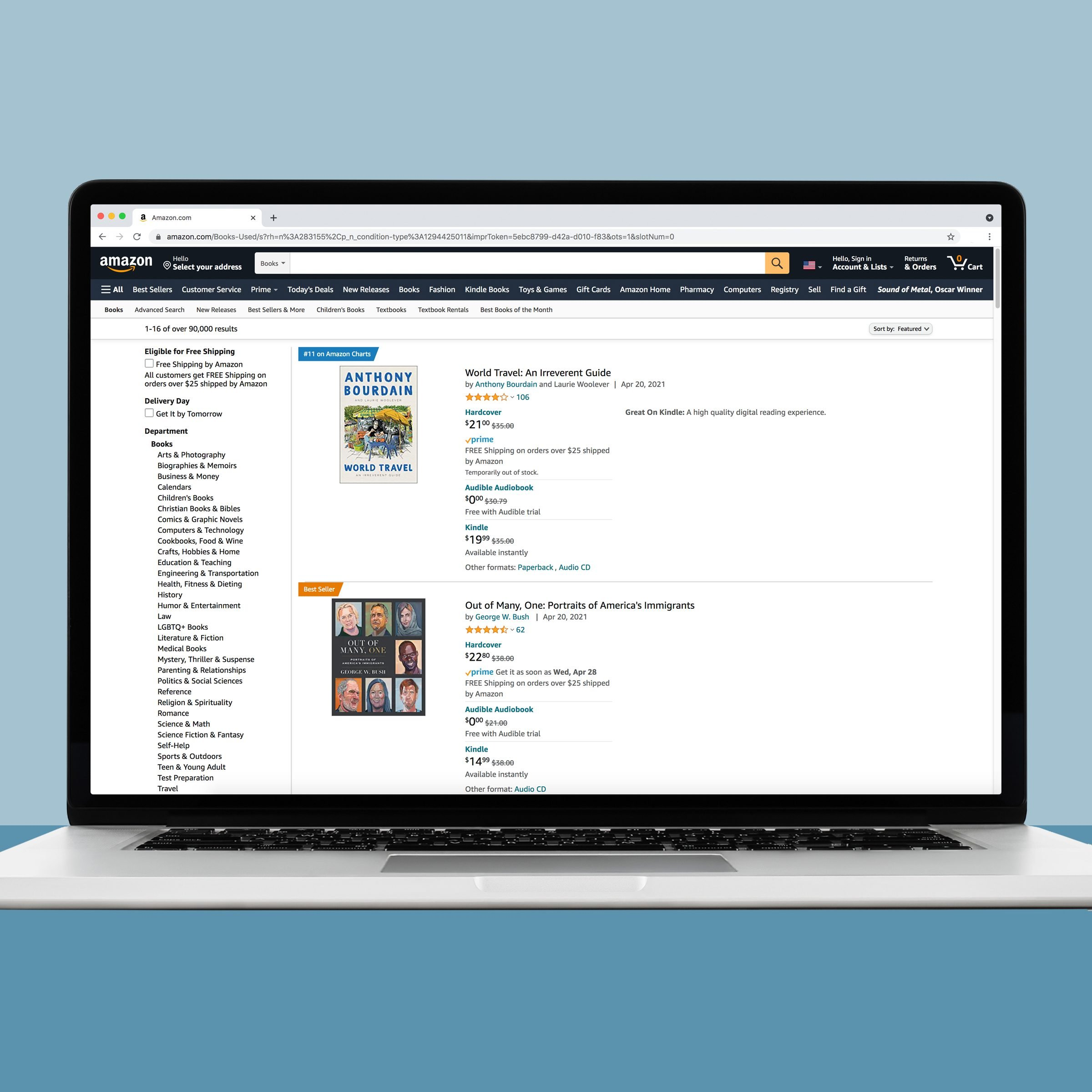Amazon used book for sale online