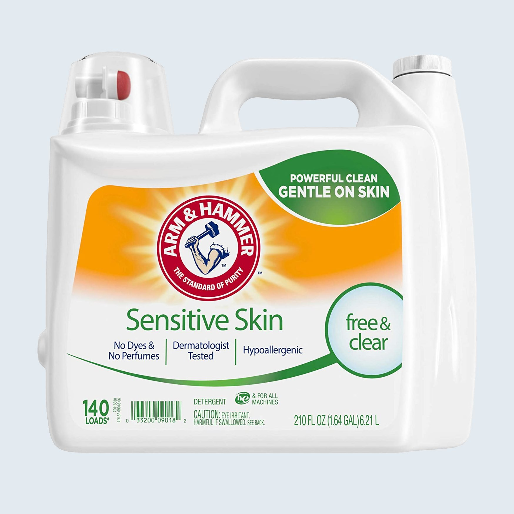 Arm & Hammer Sensitive Skin Free & Clear Detergent