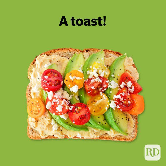 Avocado Puns A Toast