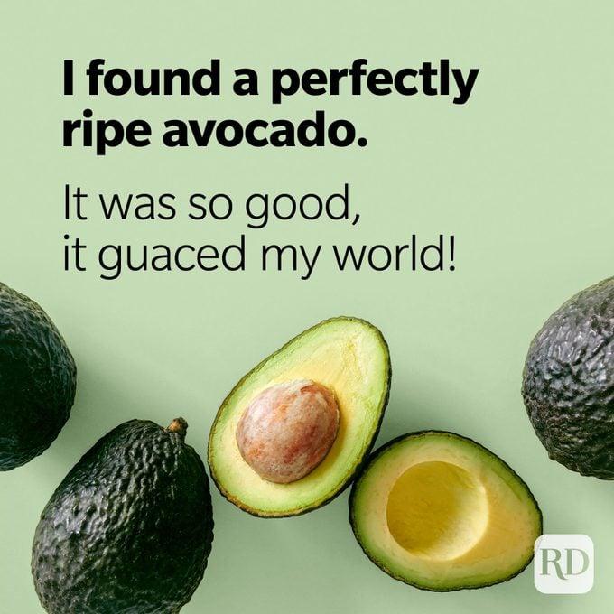 Avocado Puns Guaced My World