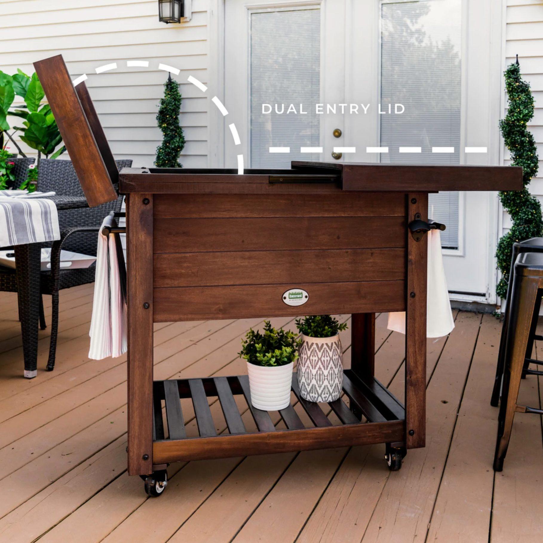 The 100 Quart Outdoor Cooler