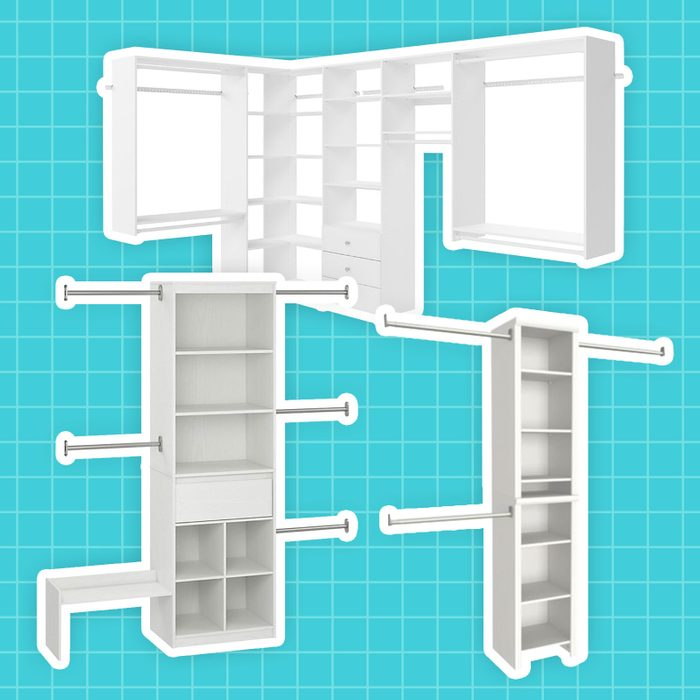 Best Closet Systems - three examples collaged together