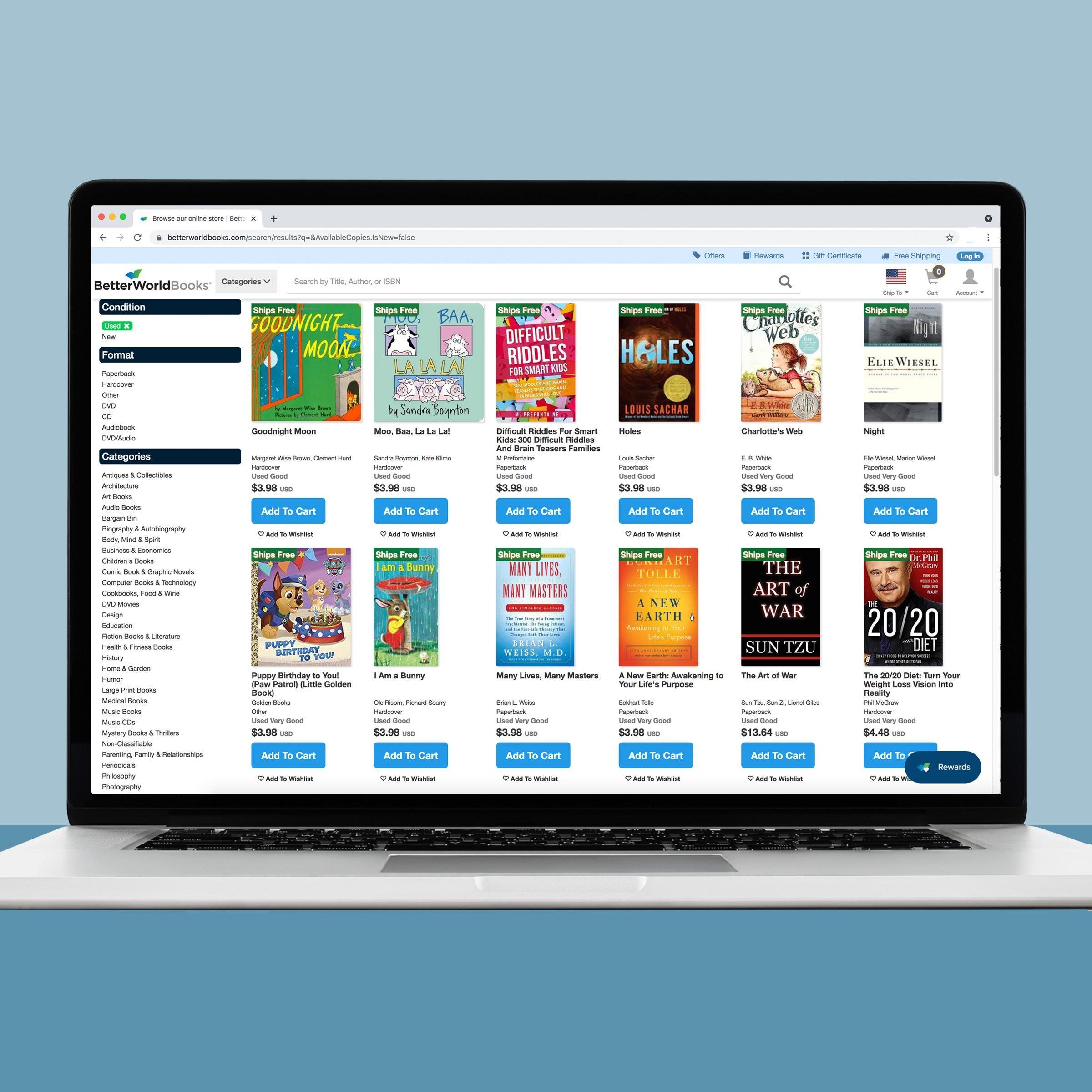 Better world Books online book store