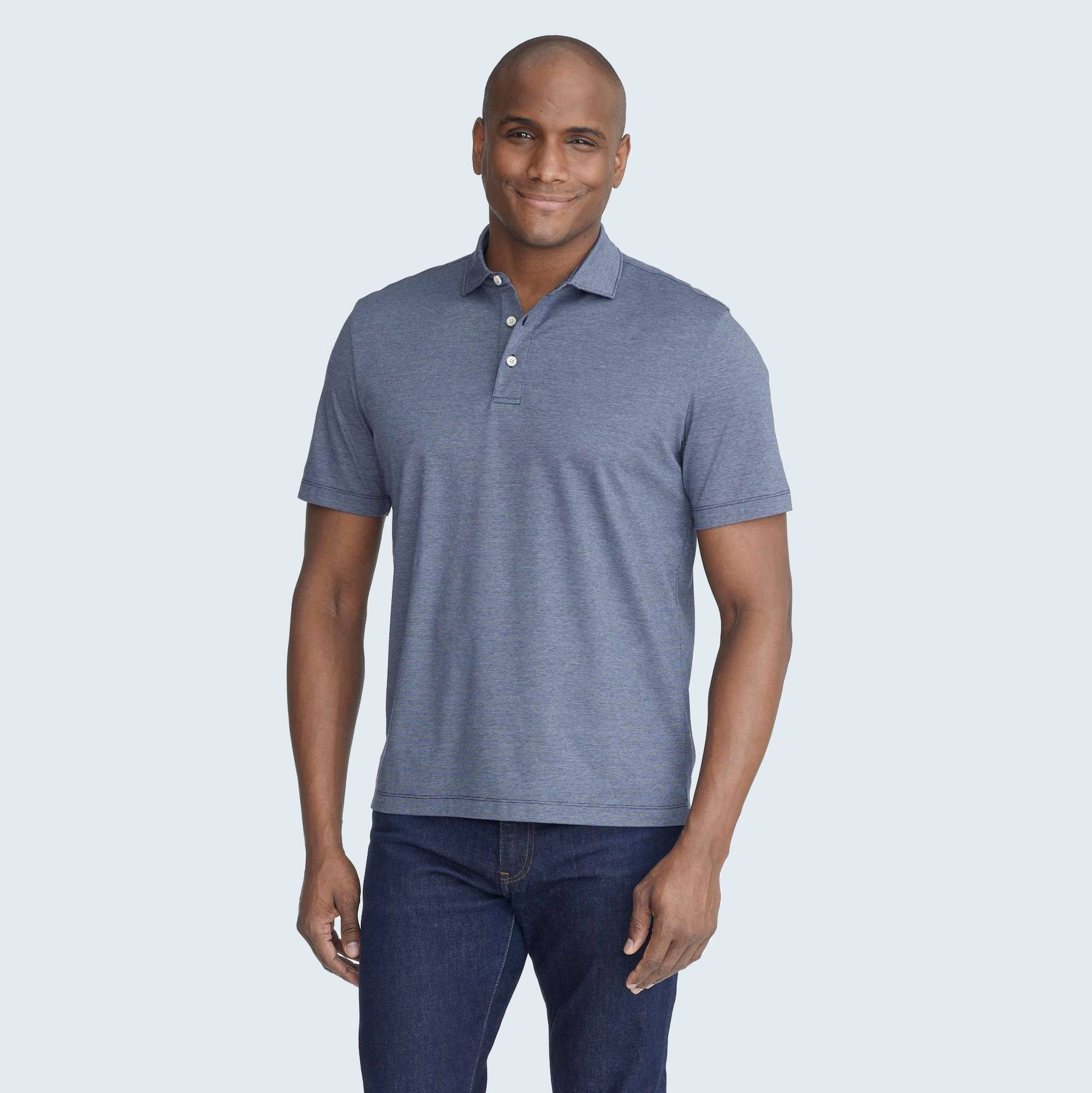 UNTUCKit Luxe Wrinkle-Free Pique Polo