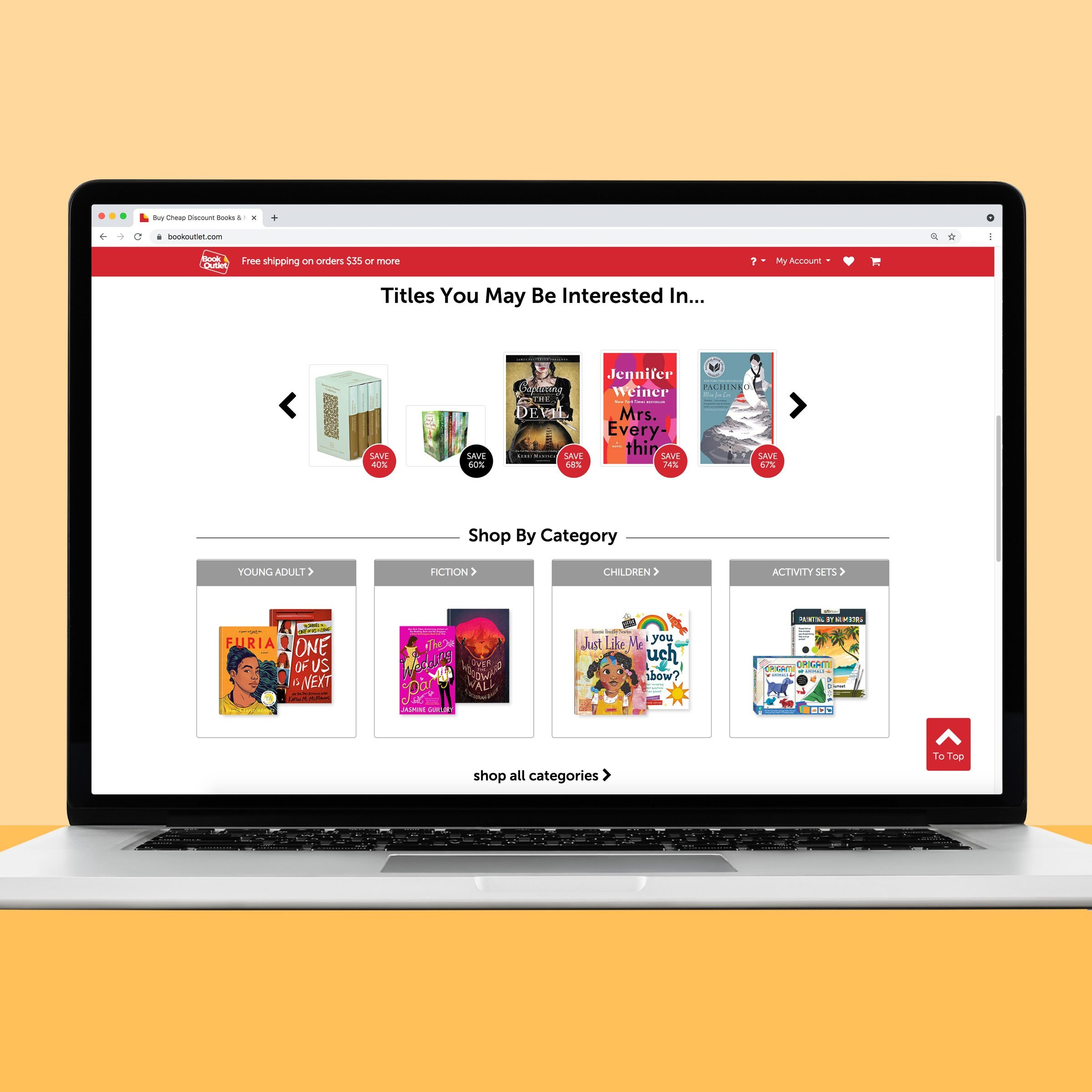 Book Outlet used online book website