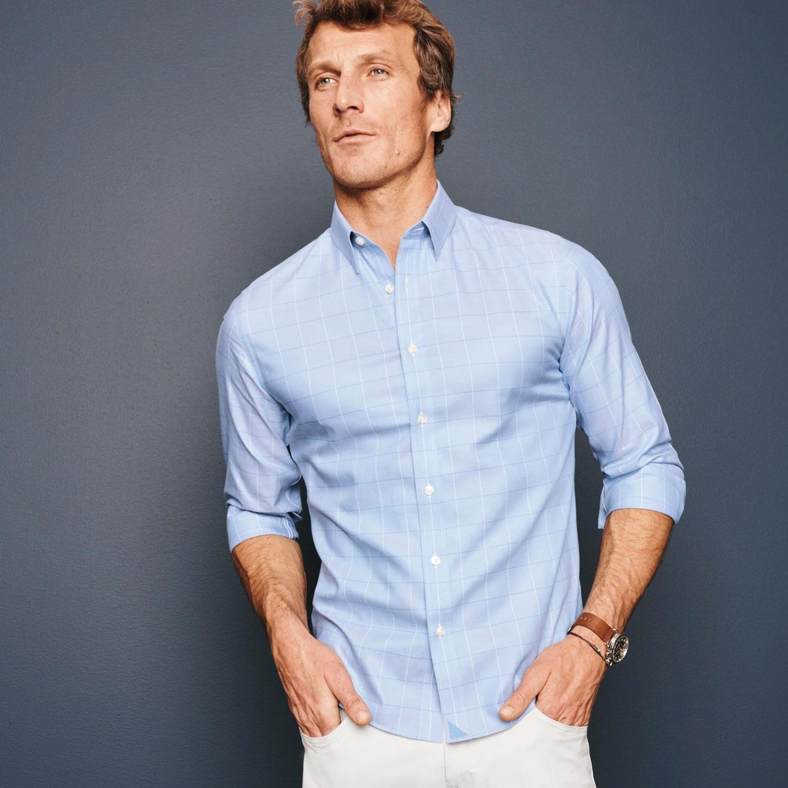 UNTUCKit Wrinkle-Free Blakeslee Shirt