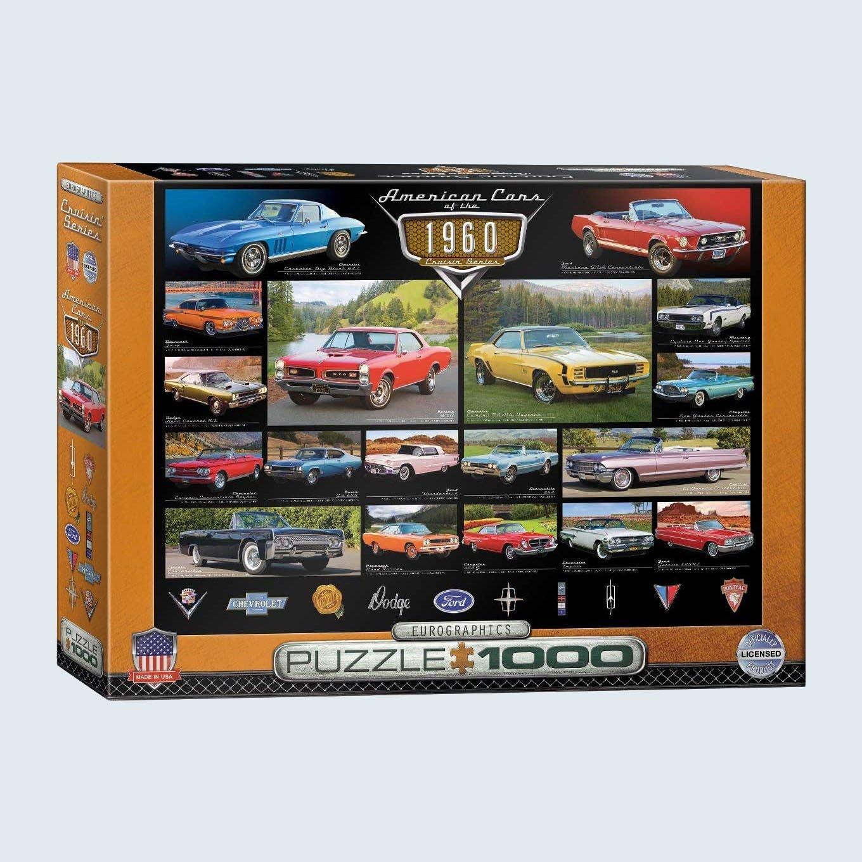 Eurographics American Cars of the 1960s Cruisin' Classics Jigsaw Puzzle