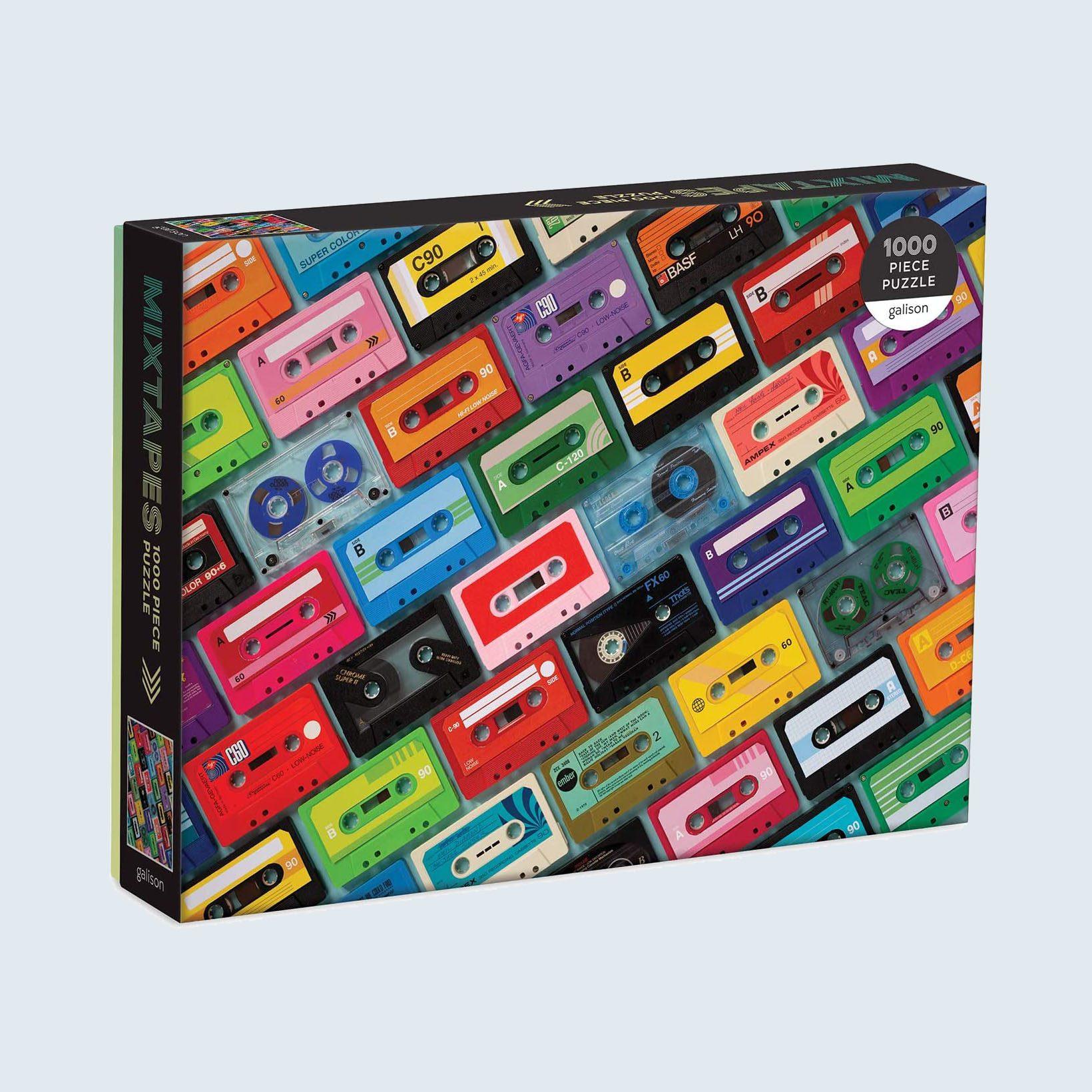 Galison Mixtapes 1,000 Piece Puzzle