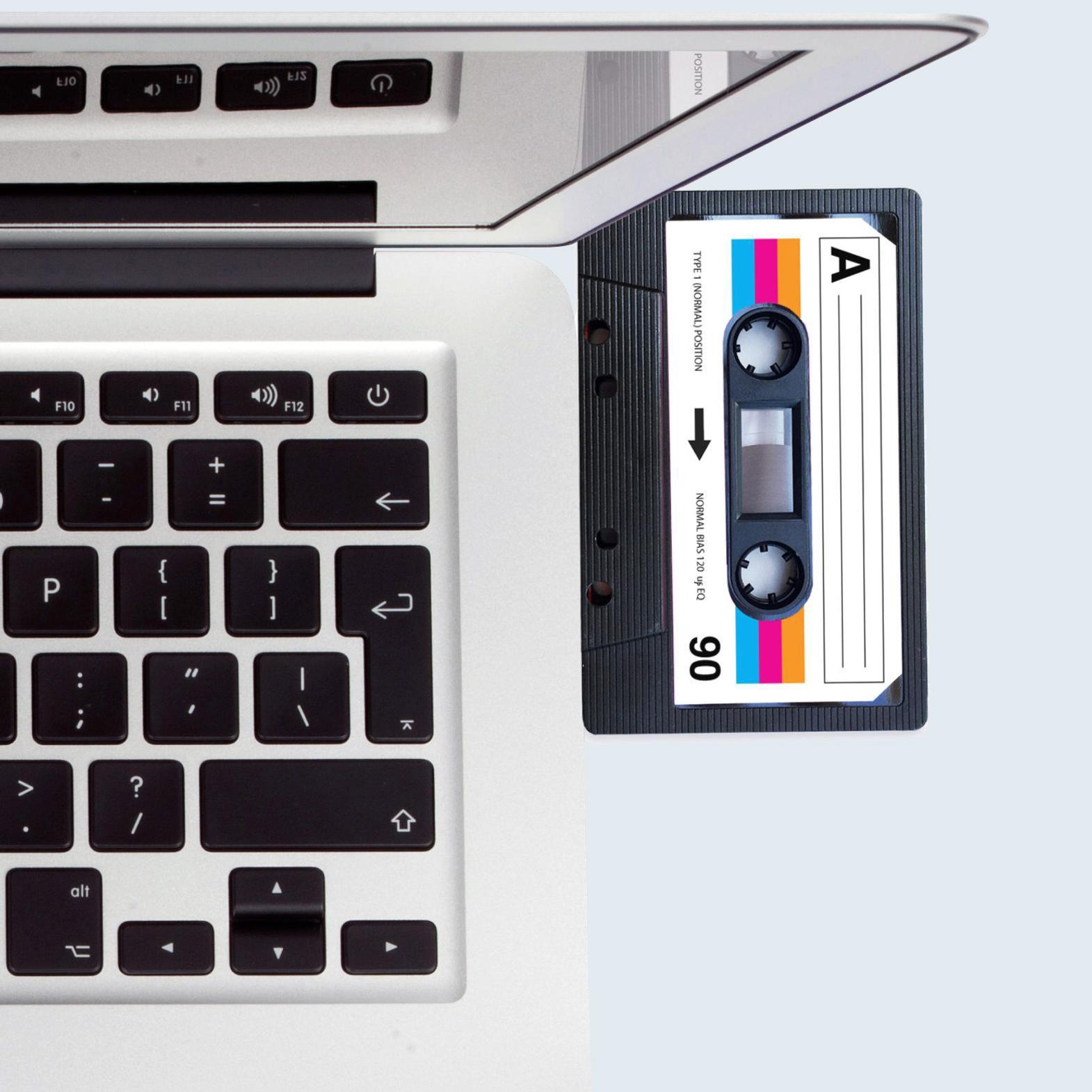 Blank Record USB Mixtape