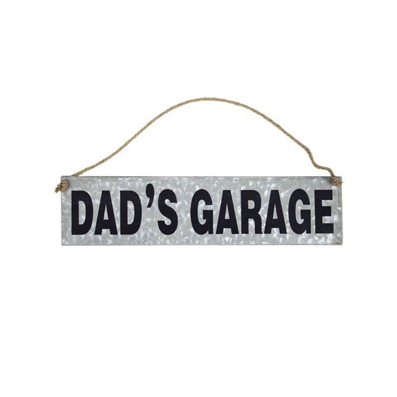 Crystal Art Gallery Dad's Garage Hanging Sign