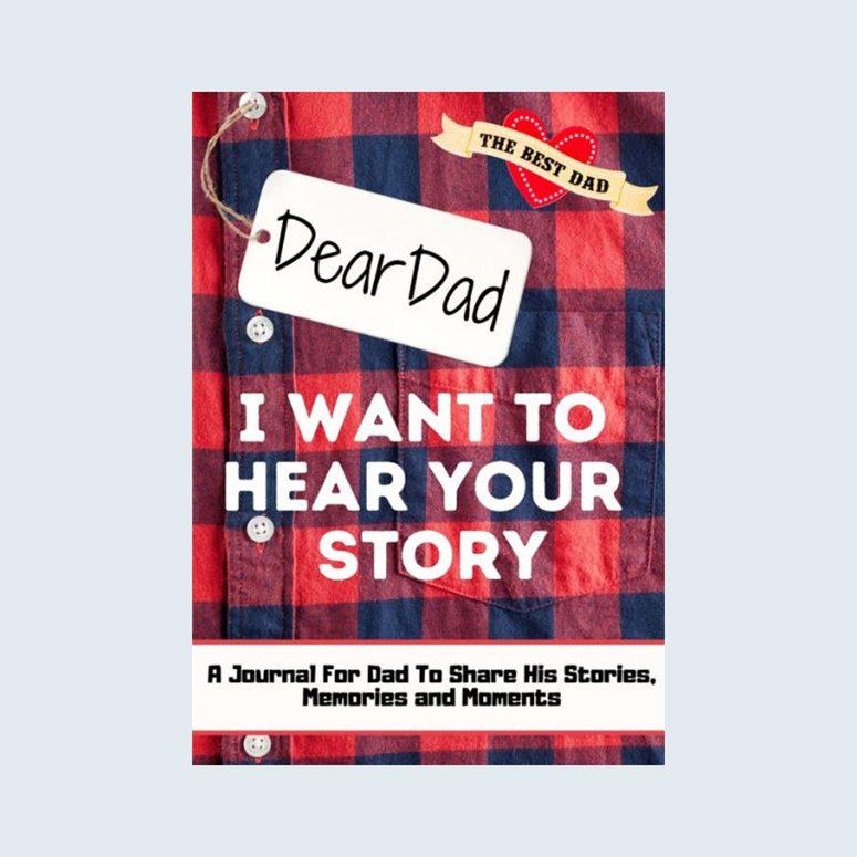 Dear Dad Memory Journal