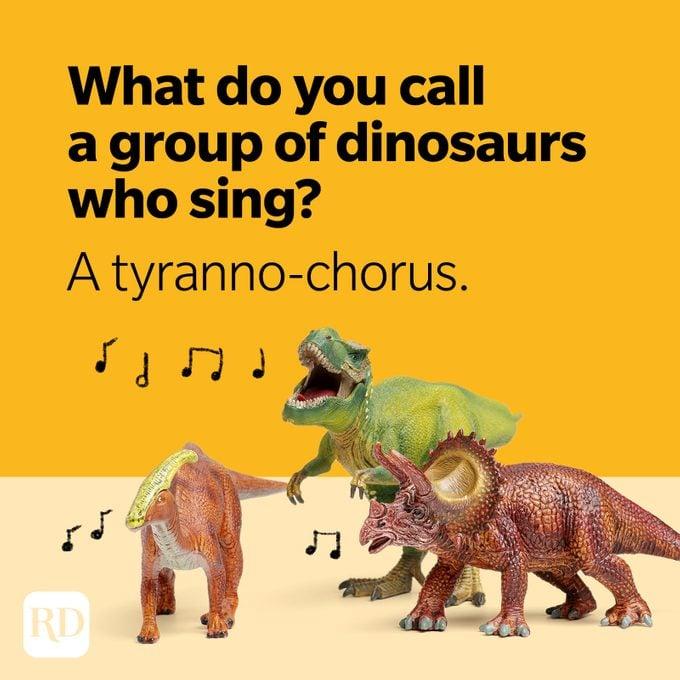 Dinosaur Jokes Tyranno Chorus