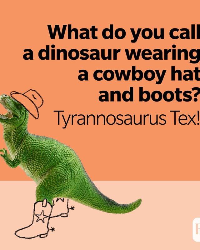 Dinosaur Jokes Tyrannosaurus Tex