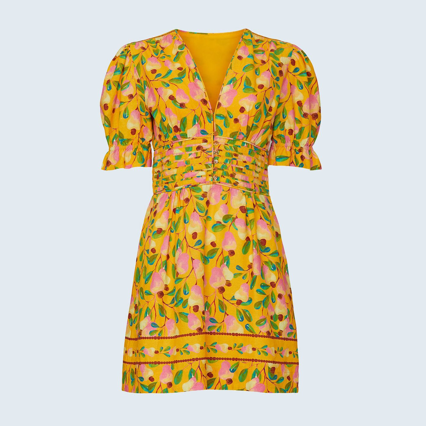 Yellow Dress from Rent the Runway