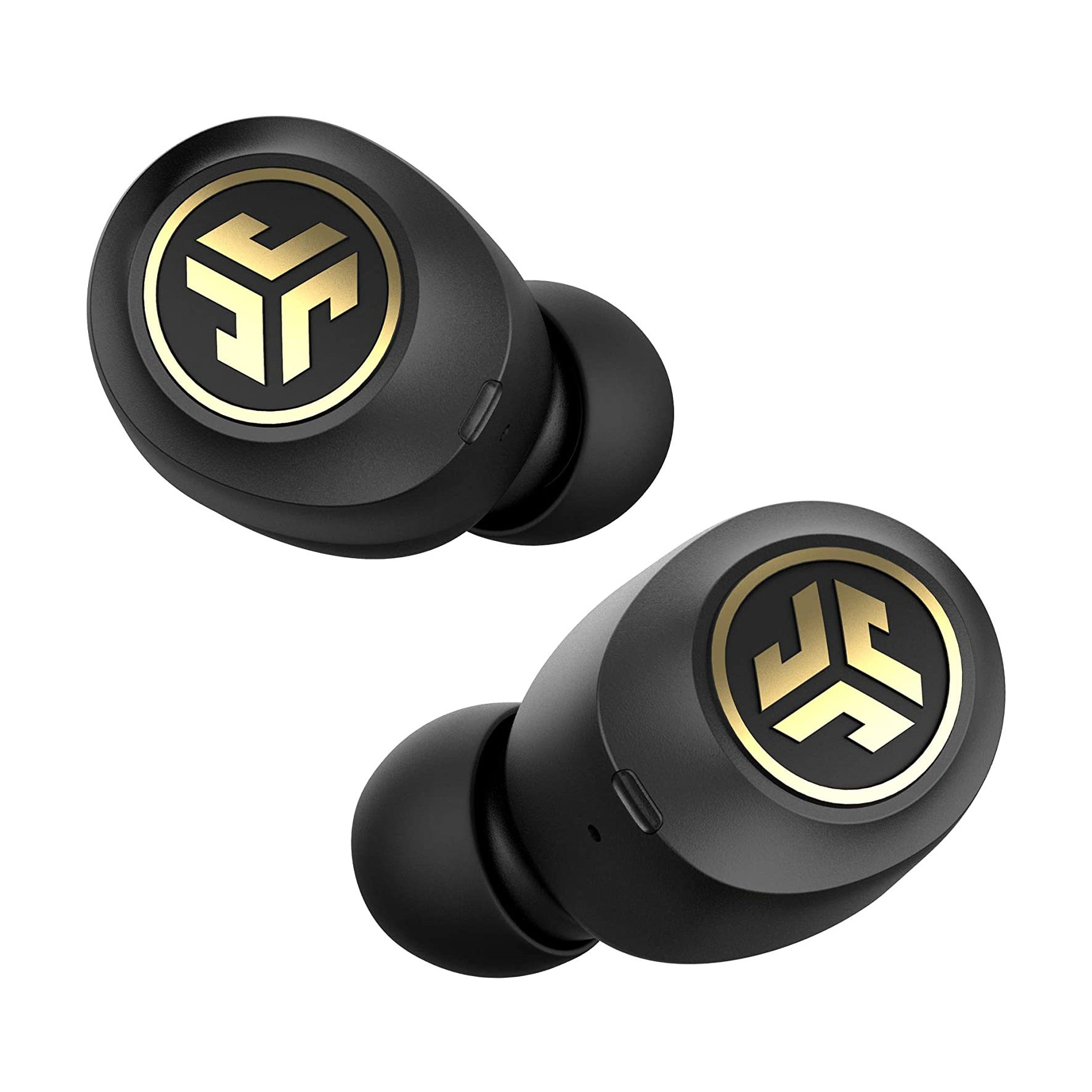 JLab Audio J Buds Air Icon True Wireless Signature Bluetooth Earbuds + Charging Case