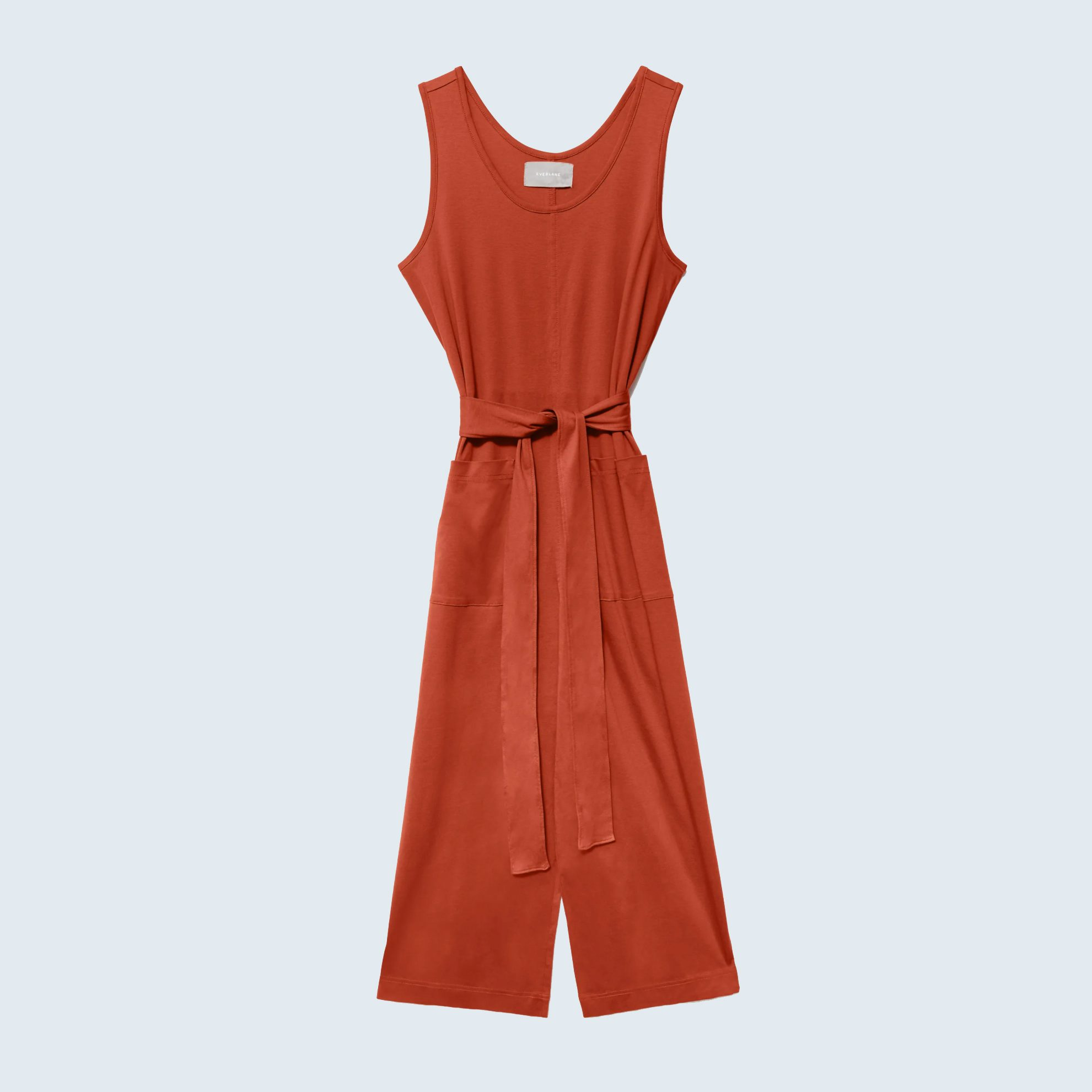 The Luxe Cotton Jumpsuit from Everlane