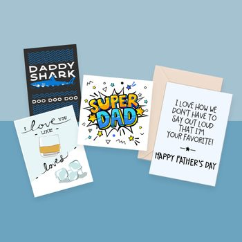 30 Free Printable Father's Day Cards Dad Will Love