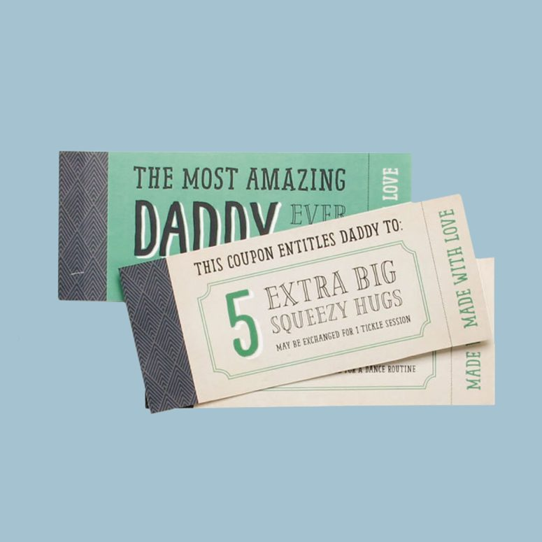 The dad coupon book