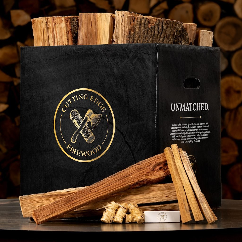 Cutting Edge Firewood Hickory Firewood Box