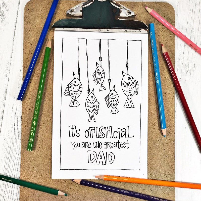 It's ofFISHcial, you're the greatest dad!