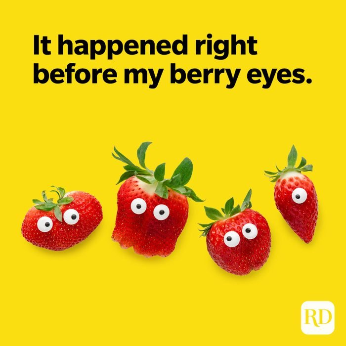Fruit Puns Right Before My Berry Eyes