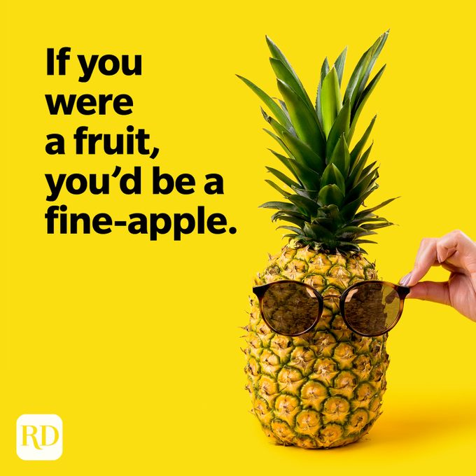 Fruit Puns Youd Be A Fine Apple