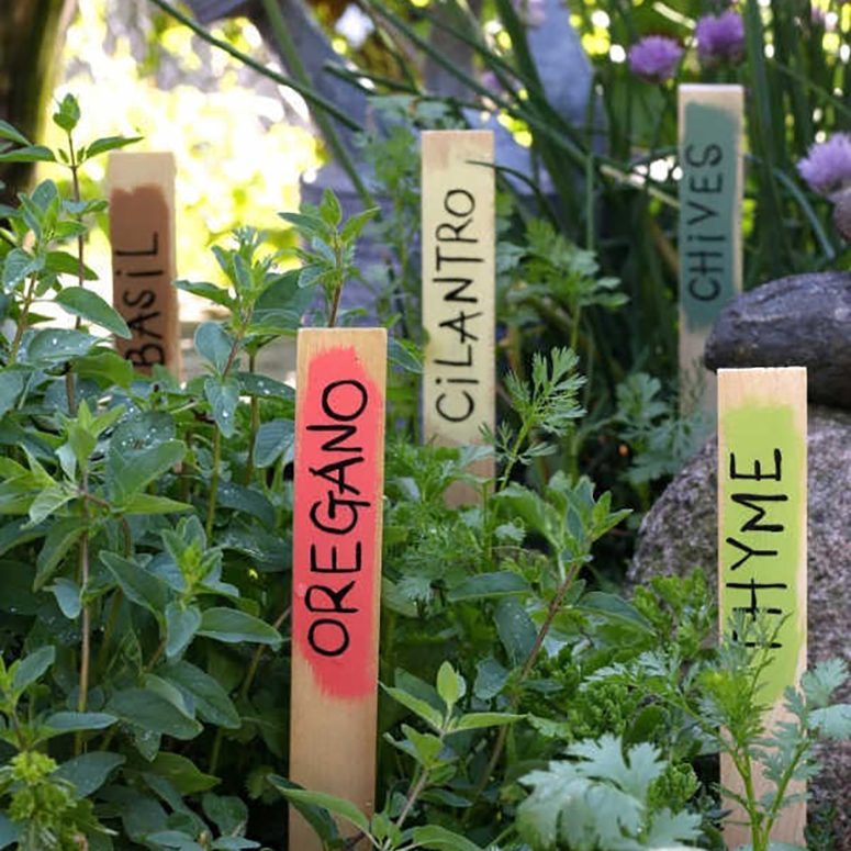Garden markers for Dad