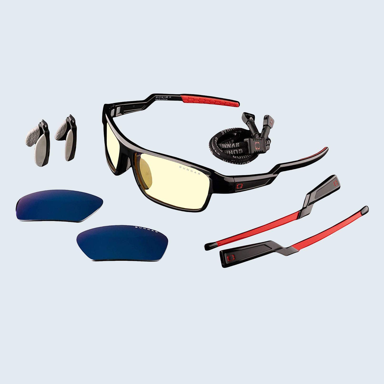 Gunnar Optiks Lightning Bolt 360 Gaming Glasses