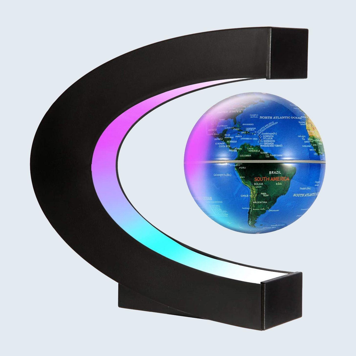 Gresus Magnetic Levitation Floating World Map Globe