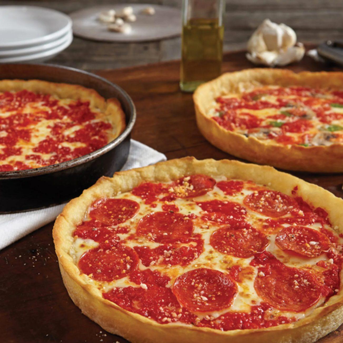 Lou Malnati's Deep-Dish Pizzas from Goldbelly