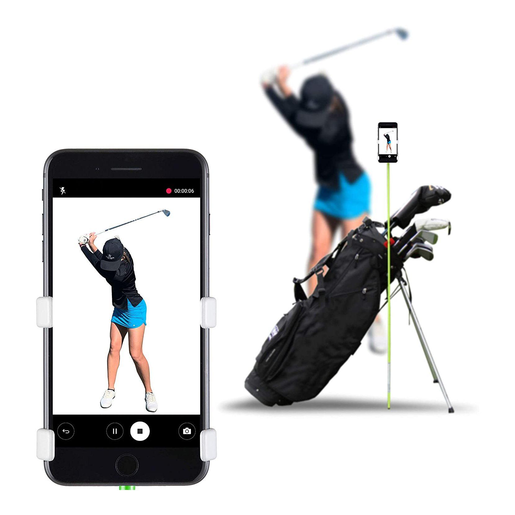 Selfie Golf Record Golf Swing