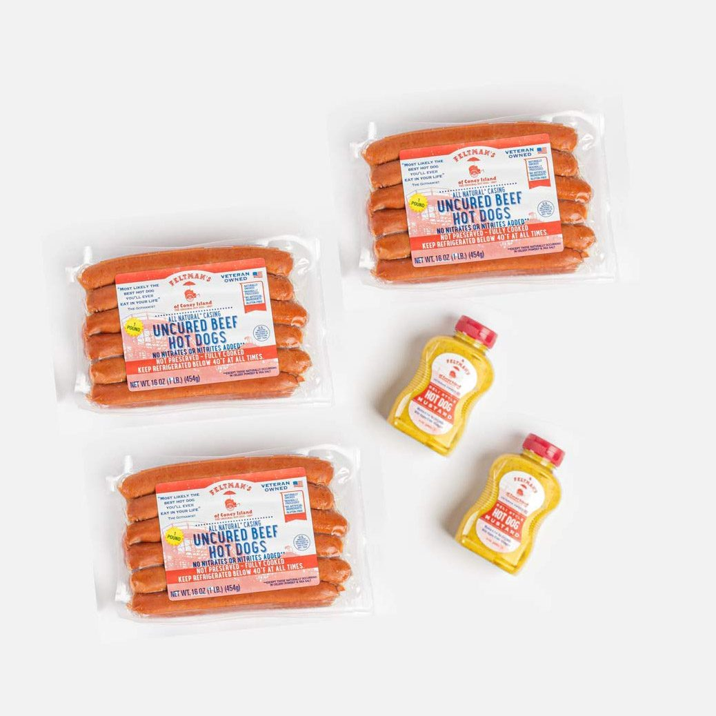 Feltman's of Coney Island Original Hot Dogs Bundle