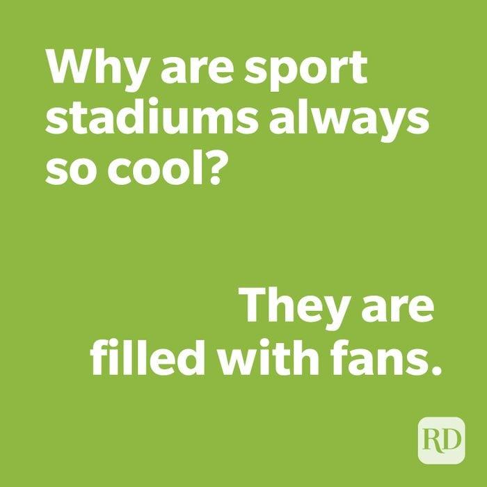 Stadium joke