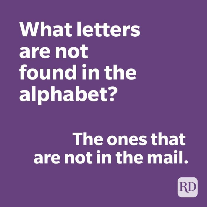 Alphabet joke