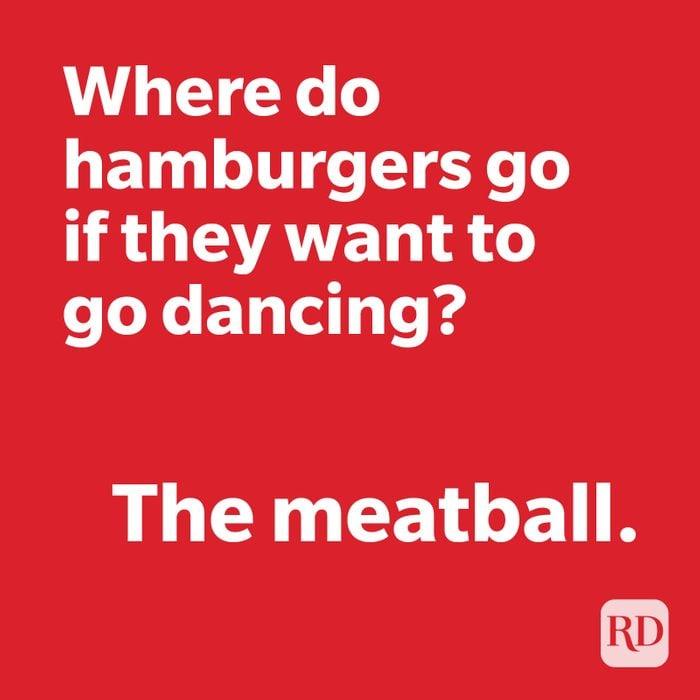 Burger joke