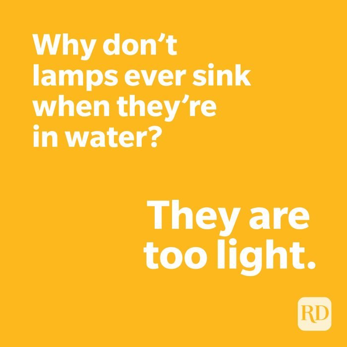 Lamp joke