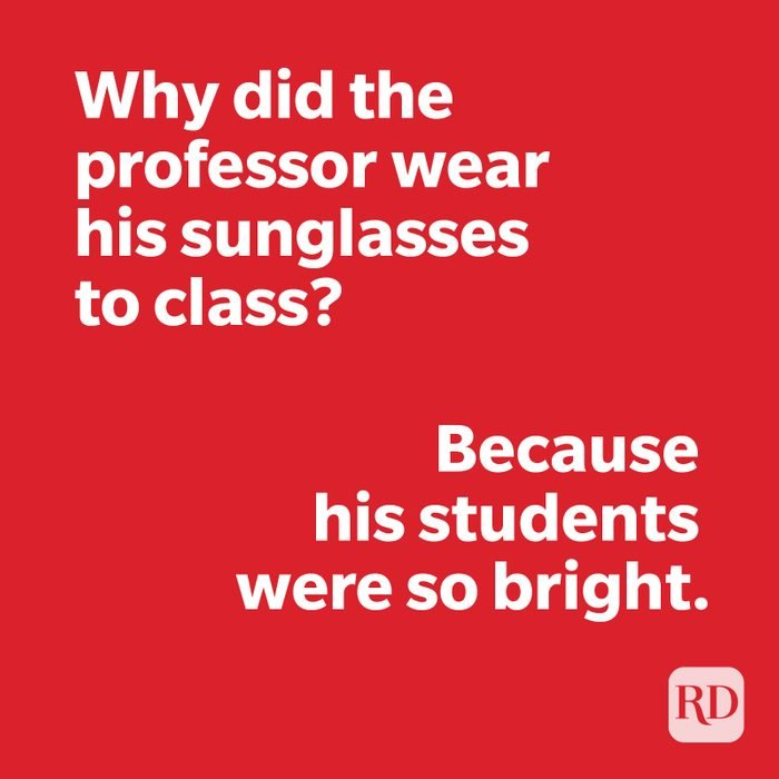 Teacher joke