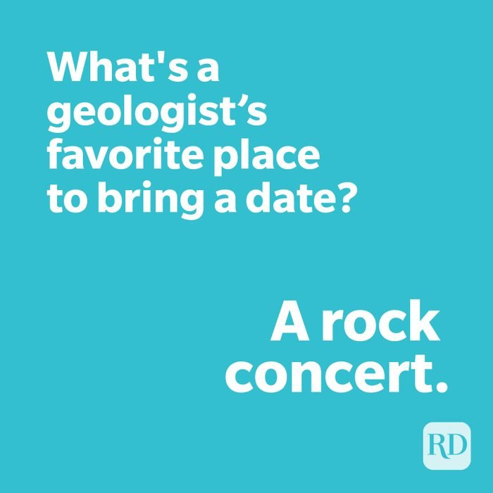 Geologist joke