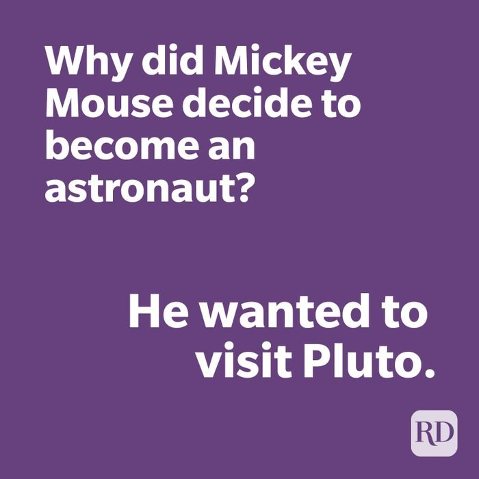 Mickey Mouse joke
