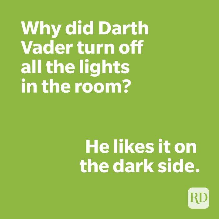 Darth Vader joke