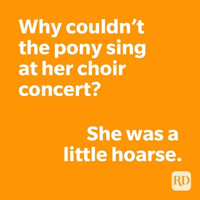 Pony joke