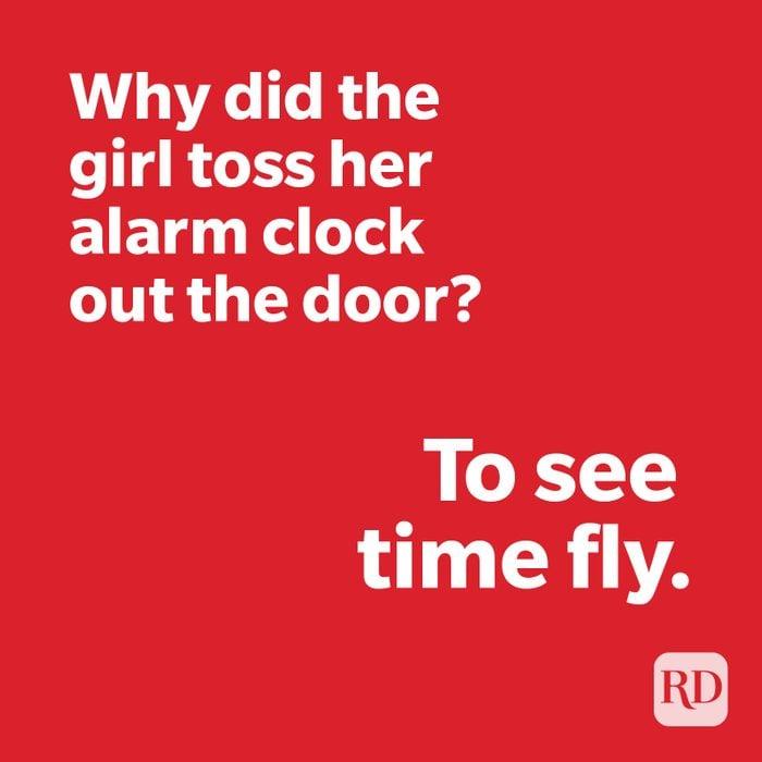 Clock joke