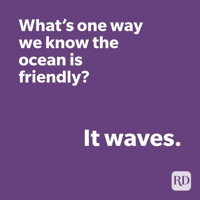 Wave joke on purple