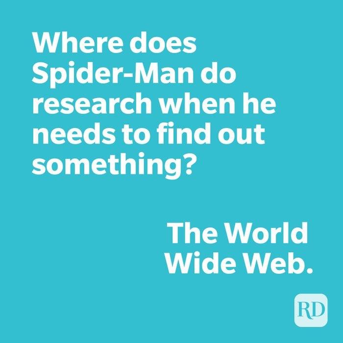 Spiderman joke