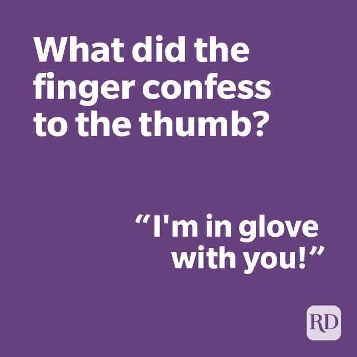 Finger joke