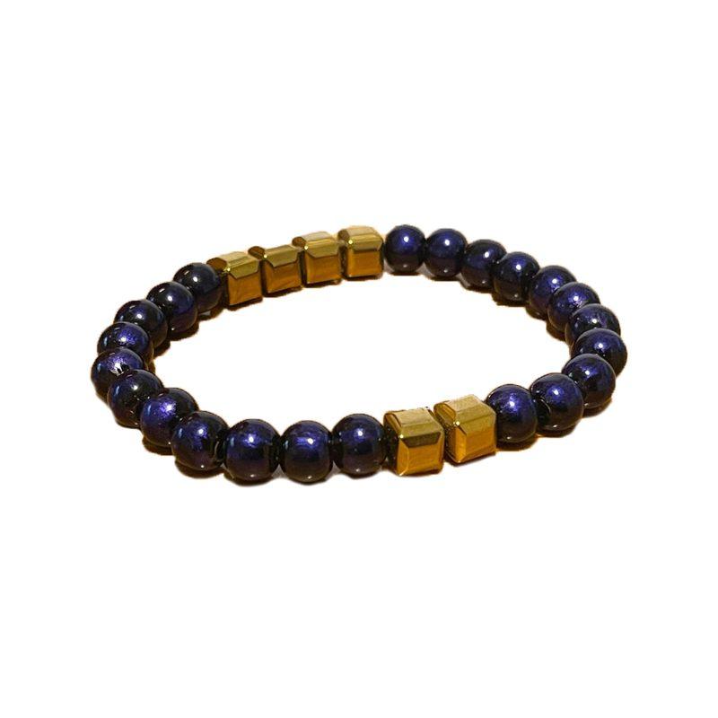 Kmaurice Beaded Men's Bracelet