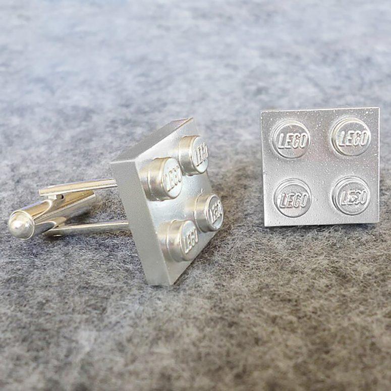 LEGO cuff-links for Dad