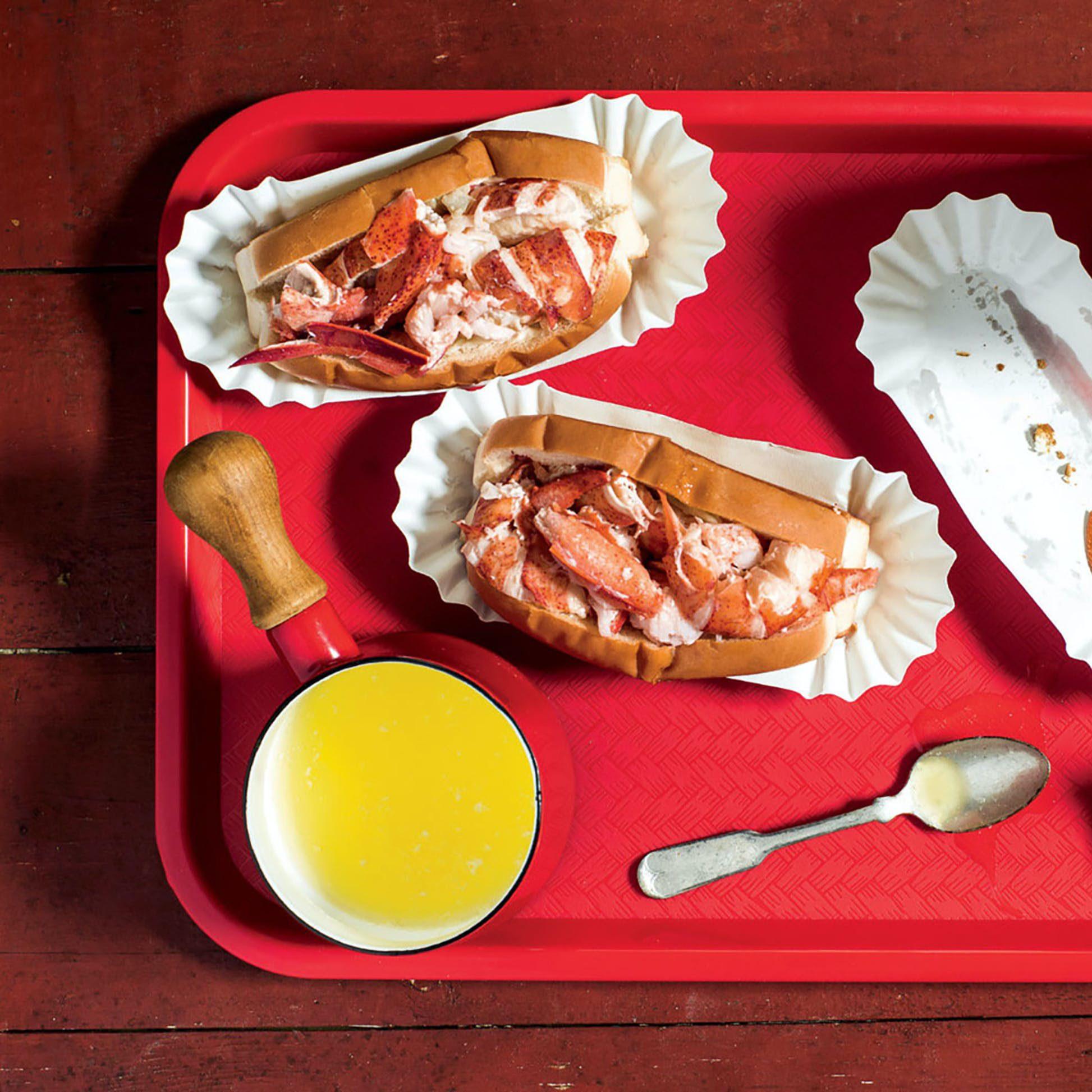 Goldbelly McLoons Lobster Shack Maine Lobster Roll Kit